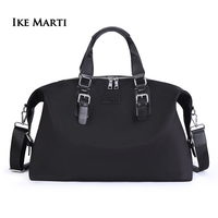IKE MARTI Men Women Travel Bag Duffle Bags For Traveling Weekend Sport Luggage Bag Hand Large Capacity Waterproof Black Gym Bag