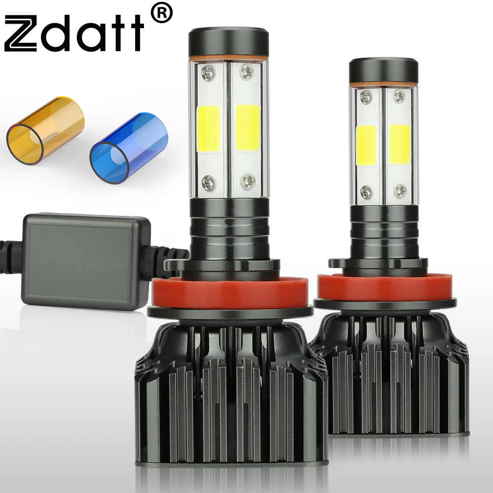 Zdatt H7 LED H4 LED H11 HB3 9005 9006 9007 H13 Led 12000Lm Car Light Canbus Bulb 100W Headlight 12V Lamp Auto 3000K 6000K 8000K