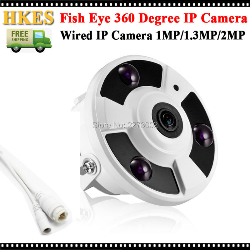 HD IP Camera 1080P Wide Angle FishEye 5MP 1.7MM Lens Camera CCTV Indoor ONVIF 3 ARRAY IR LED panoramic ip camera 720p 960p 1080p optional wide angle fisheye 5mp 1 7mm lens camera cctv indoor onvif 6 array ir led