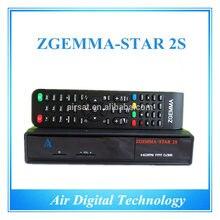 10 unids Linux zgemma estrellas 2 s receptor de satélite doble sintonizador dvb-s2 iptv streaming server