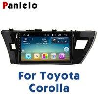 Panlelo For Toyota Corolla 2014 Car Radio Multimedia 10.2 inch Autoradio 2din Video Player Navigation GPS Android Navigation
