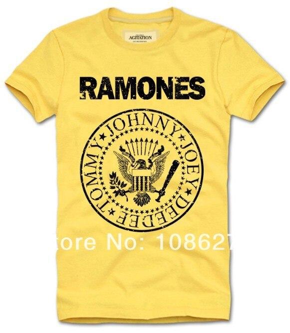c8c2dbbea Al por mayor Ramones camisetas famoso Rock Band hip hop casual fitness 2017  nueva camiseta hombres mujeres tamaño de los niños t shrit en Camisetas de  La ...