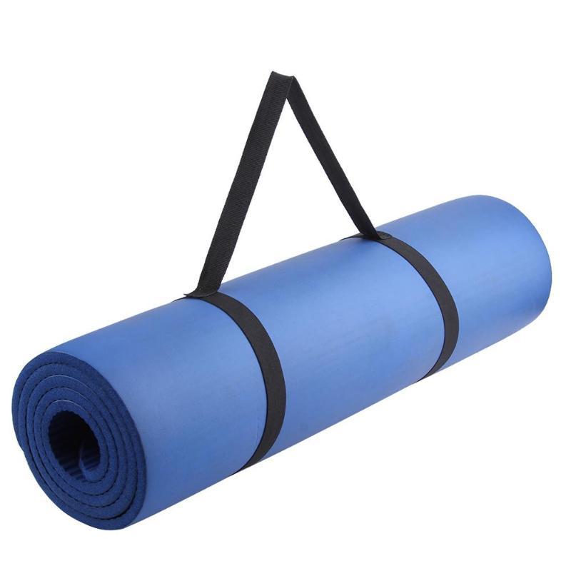 1pcs Portable Yoga Mat Sling Sports Polyester Belt Fitness Gym Adjustable Carrier Shoulder Carry Strap
