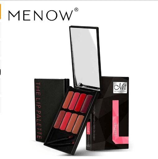 Menow Brand 8 colors Lip Gloss Palette Makeup Waterproof Lasting Moisturizer Lipsticks Women beauty lips Cosmetic Lip 1