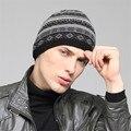 Kenmont мужской Зимняя Шерсть Шляпа Спорт Лыжный Снег Трикотажные Шапочки Hat KM-1345-01 Черный