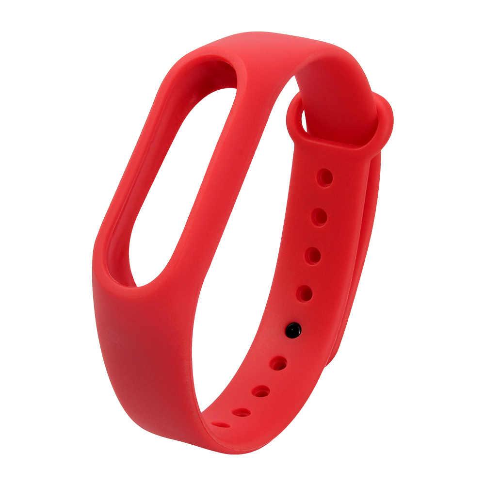 ColMi צבעוני צמיד סיליקון רצועות יד חגורת המקורי Fit שעון להקת Miband 2 Xiaomi Mi 2 Wristbands Global Smart אפס מקום