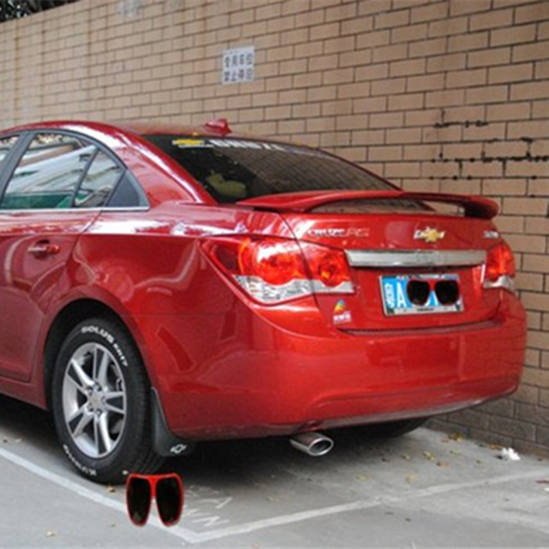For Chevrolet Cruze A Spoiler ABS Material Car Rear Wing unpaint Color Rear Spoiler For Chevrolet Cruze A Spoiler 2009-2014 хромовые накладки для авто dongzhen auto chevrolet cruze 2009 4
