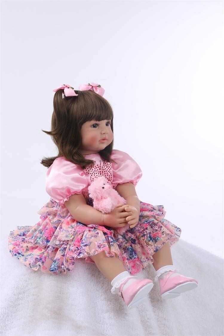 Reborn Brinquedos girl Toys 1