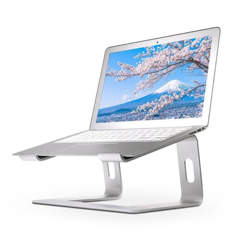 """Support pour ordinateur portable en alliage d'aluminium 10-17 """"Support de Support pour ordinateur portable avec refroidissement pour Macbook Air Pro Chromebook"""