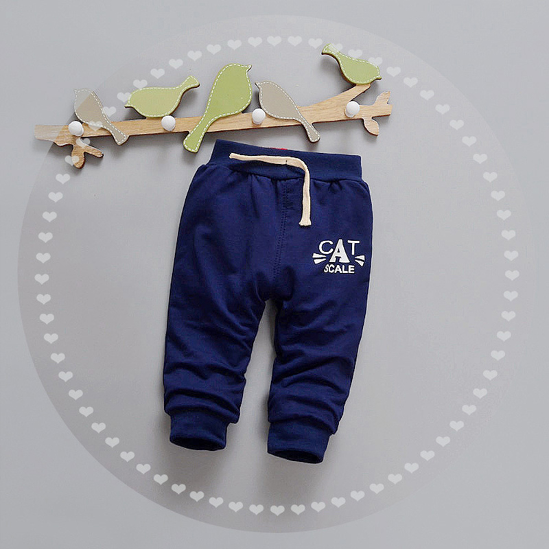 Letter Baby Pants Cotton Boys Girls Trousers Spring Autumn Boys Pants Elastic Waist Girls Trousers 2017 Baby Clothing 9-24Months (8)