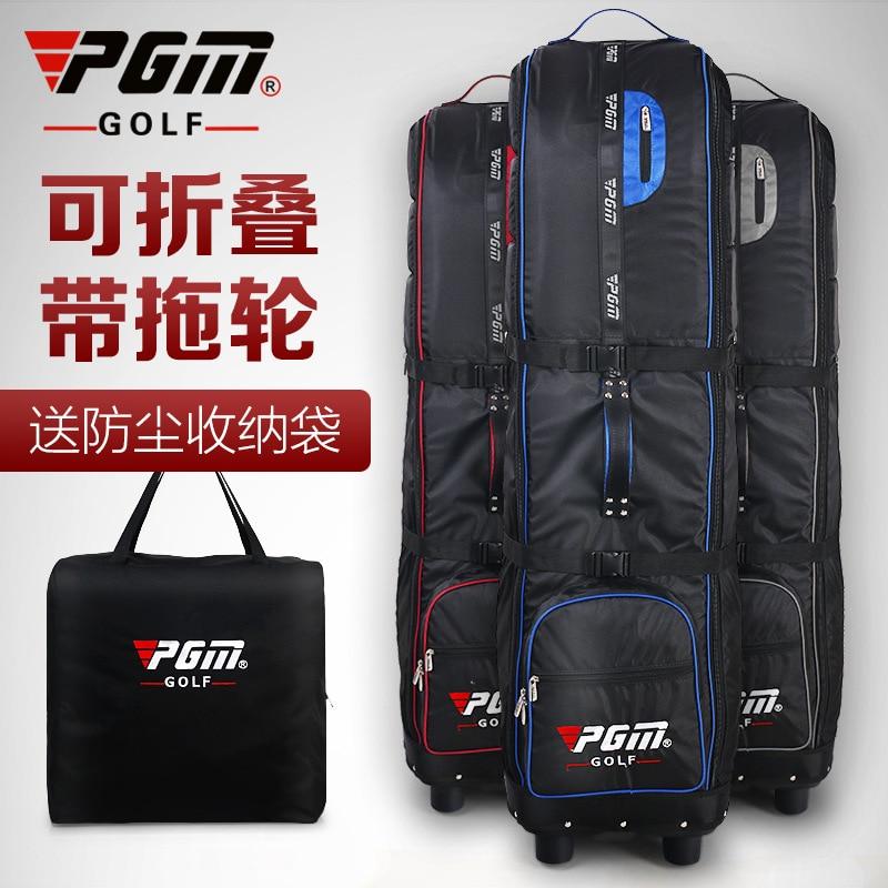 PGM Golf Aviation Bag Send Dustproof Storage Bag Thickened Aircraft Checked Folding Tug Aviation Bag A4736 hot pgm golf bag golf clothes bag men