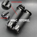 "For Harley Handle Black CNC 1""25mm Handlebar Hand Grips For Harley Sportster Touring Dyna Softail Custom"