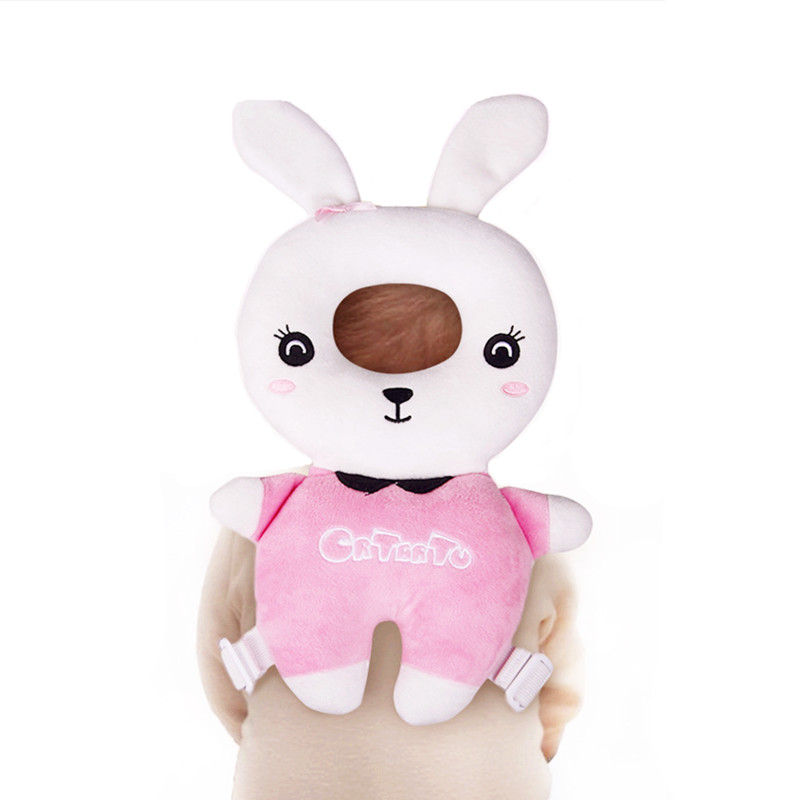 Animal Series Baby Protective Pillow Birthday Gift for Kids Rabbit Cushion Stuffed Safety Pillows Protect Kids Head for Walking