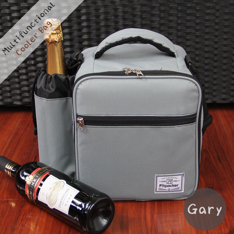 Thermal Portable Insulated Oxford Cooler Lunch Picnic Carry Tote Storage Bag