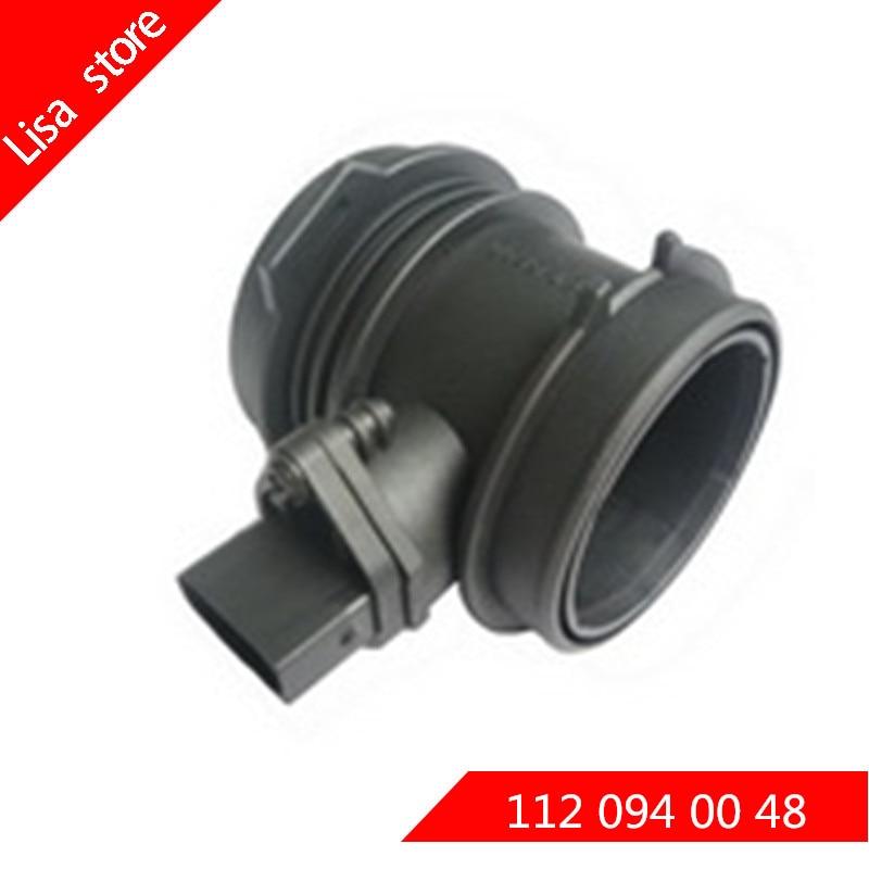 Air flow sensor For Mercedes Benz W202 W203 S202 S203 CL203 C240 C280 C320 C32 OEM: 0 280 217 515 0280217515 112 094 00 48|Air Flow Meter| |  - title=