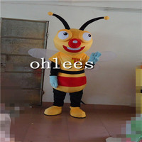 Ohlees bee Mascot Costume Halloween Christmas party Props Costumes For Adult cartoon animal customize