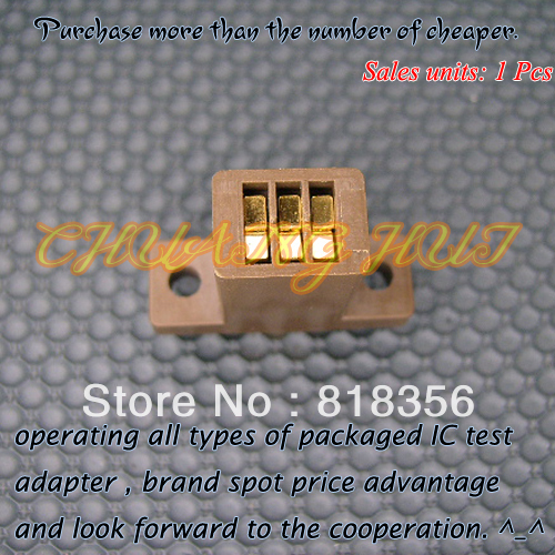 TO-220 IC Test Socket  Transistor TO220 Aging Test Seat