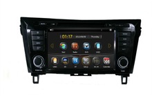 HD 2 din 8″ Car DVD Player for Nissan QashQai X-Trail 2014 With GPS Navigation Radio /RDS Bluetooth IPOD TV USB SWC AUX IN