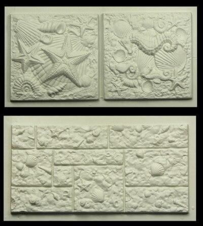 Kunststoff Formen Für Betonputz Garten Haus Wand Stein Fliesen Stein - Beton putz auf fliesen