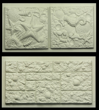 Plastic Molds For Concrete Plaster Garden House Wall Stone Tiles Stone Mold  Cement Bricks Maker Mould