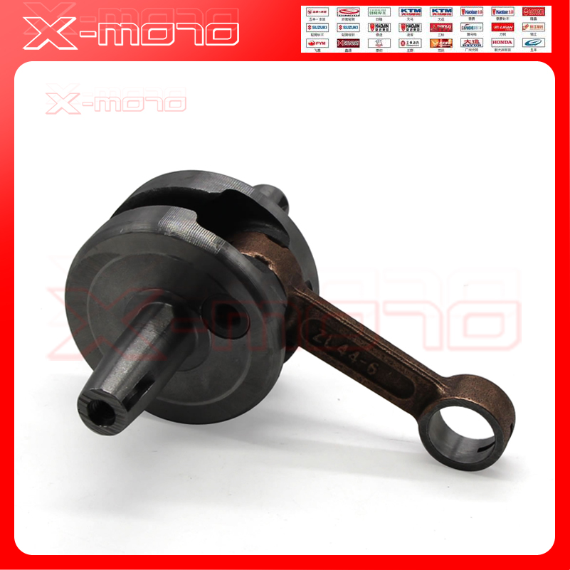 Full Circle Crank for 49cc 44-6 pocket bike scooter 2 stroke engine  Crankshafts parts Mini dirt bike ATV Quads