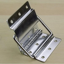 3pc/lot 90 degree angle hinge lift support Furniture Fittings connection Cabinet Hinges Box Hardware luggage Accessories
