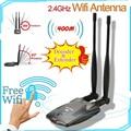 3000 МВт высокомощный беспроводной USB Wi-Fi адаптер для набора микросхем Ralink N9100 3070 ПК Wi-Fi приемник Внешний Wi-Fi для ноутбука