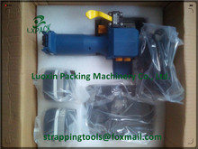 battery driven strapping hand tool with display for pre selection battery strapping machine strapping tool PP