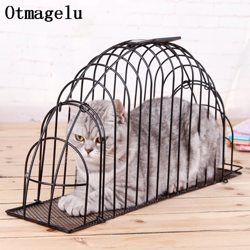 Pet Dog Cat Cage Cover Cat Limit Crate House For Preventing Scratch Bite Holder To Help Bathe Dry Injecting Pet Accessories Cage4