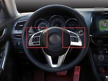 2 шт. крышка рулевого колеса trimfor Mazda 6 M6 Atenza 2013 2014 2015
