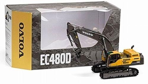 Motorart Volvo BM EC480D Kettenbagger Hydraulic Excavator 1/50 DieCast Model Construction vehicles