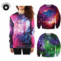 Space Galaxy Sweatshirt Harajuku Hoodies for Women Top High Quality Casual 3D Print truien dames Women's Outerwear Svitshot