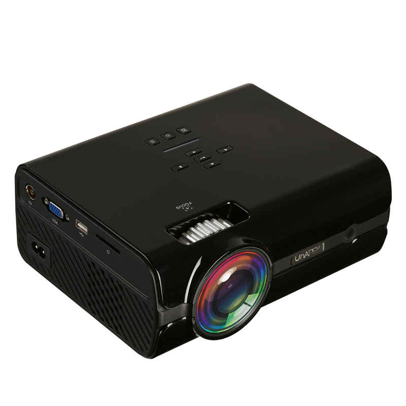 U45 Projector 7500 Lumens 1080P 3D HD LED Portable Projector Theater Home Cinema Home Vedio Projector