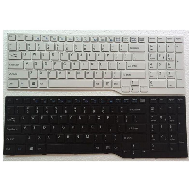 New US for Fujitsu for Lifebook A544 AH544 AH564 A544 AH544 AH564 Laptop Keyboard P/N CP648386-03 MP-13K33US-930 CNYACP648386