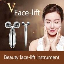 Tenký obličejový artefakt 3D obruba vrásek zpevňující zpevnění V obličejový artefaktový mikro-proudový masážní nástroj pro krásu nástroje