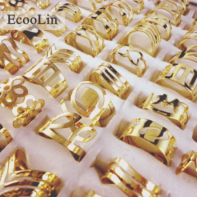 aba6faf22 50Pcs Zinc Alloy Vintage Gold Gypsy Adjustable Tattoo Finger Rings For Women  Men Mix Style Whole Jewelry Bulks BK129. Previous; Next