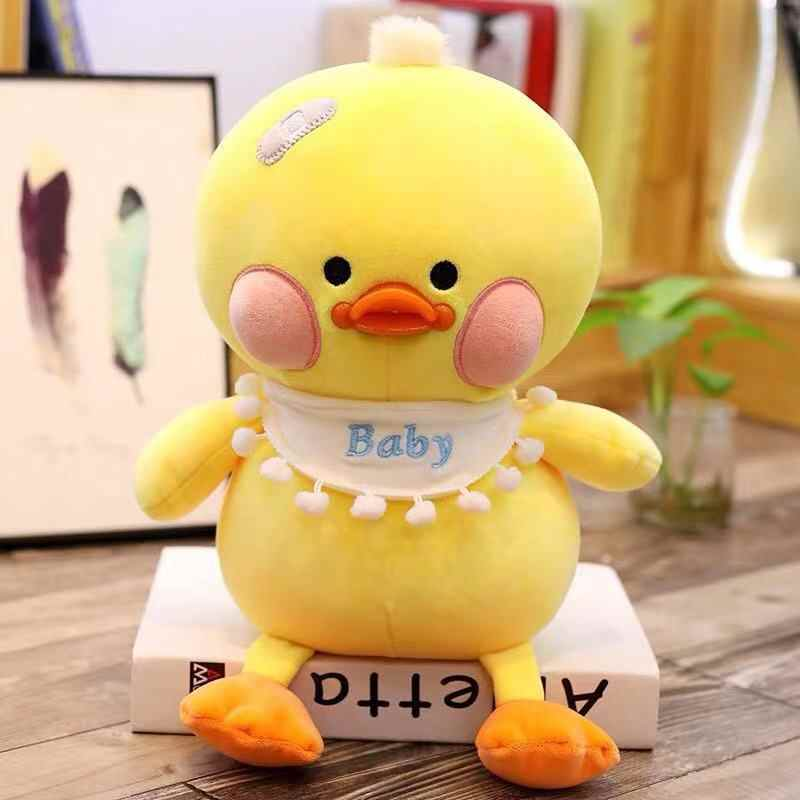 25 cm Ente Nette Kawaii Tier Puppe Weiche Plüsch Spielzeug Qualität Baby Schlafen Geburtstag Geschenk Mädchen Kind Dekoration Beschwichtigen