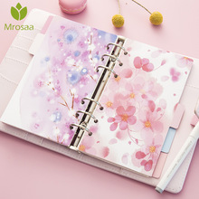 5 Sheets/Pack A5 A6 6 Holes Loose Leaf Index Paper