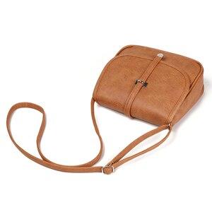 Image 3 - Yeni tasarımcı kadın çantası pu deri omuz çantası bayanlar Crossbody çanta kadın kesesi postacı çantası ucuz toptan bolso mujer