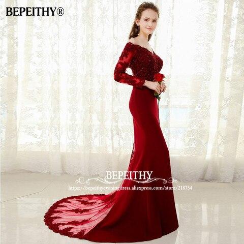 Vestido De Festa Longo Mermaid Lace Top Bodice Slim Line Long Bridesmaid Dresses Fast Shipping Charming Wedding Party Gowns New Lahore