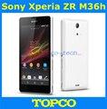 """Оригинальный разблокирована Sony Xperia ZR M36h Android-телефон Quad-core 8 ГБ GSM, WIFI, GPS 4.6 """"13.1MP Sony M36h C5503 Бесплатная доставка"""