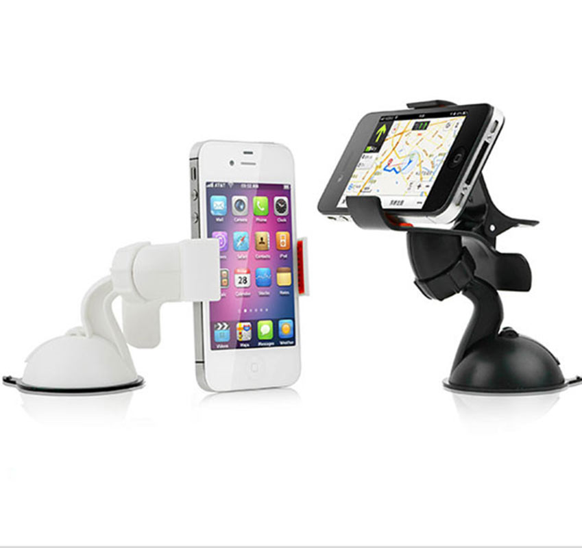 Car Phone Holder Windshield Car Mount Universal for Mobile Phones GPS Tablet PC Stand Phone Support 360 Degree Rotating
