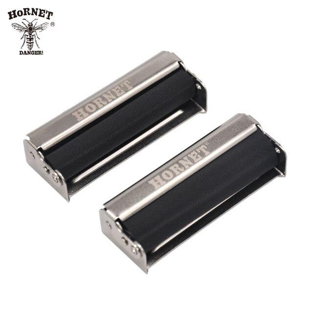 HORNET Unique 70 78MM Portable Hand Roller Metal Cigarette Rolling Machine Maker