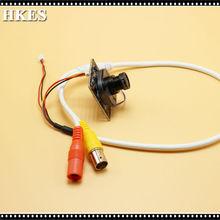 HKES 48pcs/Lot 2MP Surveillance CCTV AHD 1080P Camera Module with BNC Port Cable and 2.8mm lens