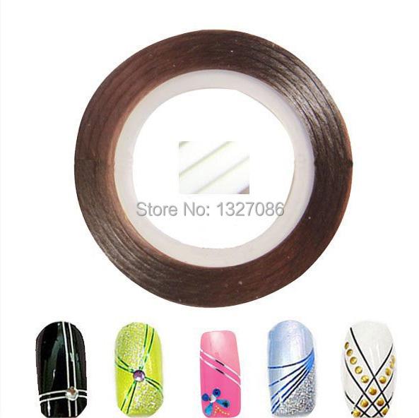 10pcs Striping Tape Line Nail Art Sticker Decoration DIY Decals UV Gel Acrylic Nail Tips