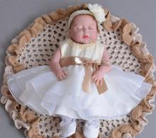 NPK 55CM loli Bebes Reborn Dolls play Toys full Silicone Reborn Baby Doll Lifelike Sleeping Baby Doll Baby Girl Birthday Gift