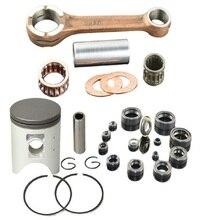 AHL Standard 66,4mm Pleuel & Kolben Ring Set KURBEL STANGE Conrod für HONDA CRM250AR CRM 250 AR KAEG 249cc CRM250 KAEG 246