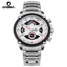 Фотография CASIMA Luxury Brand watches men Sport Fashion Elegent table mens quartz watch silicone strap luminous waterproof 100m 8207