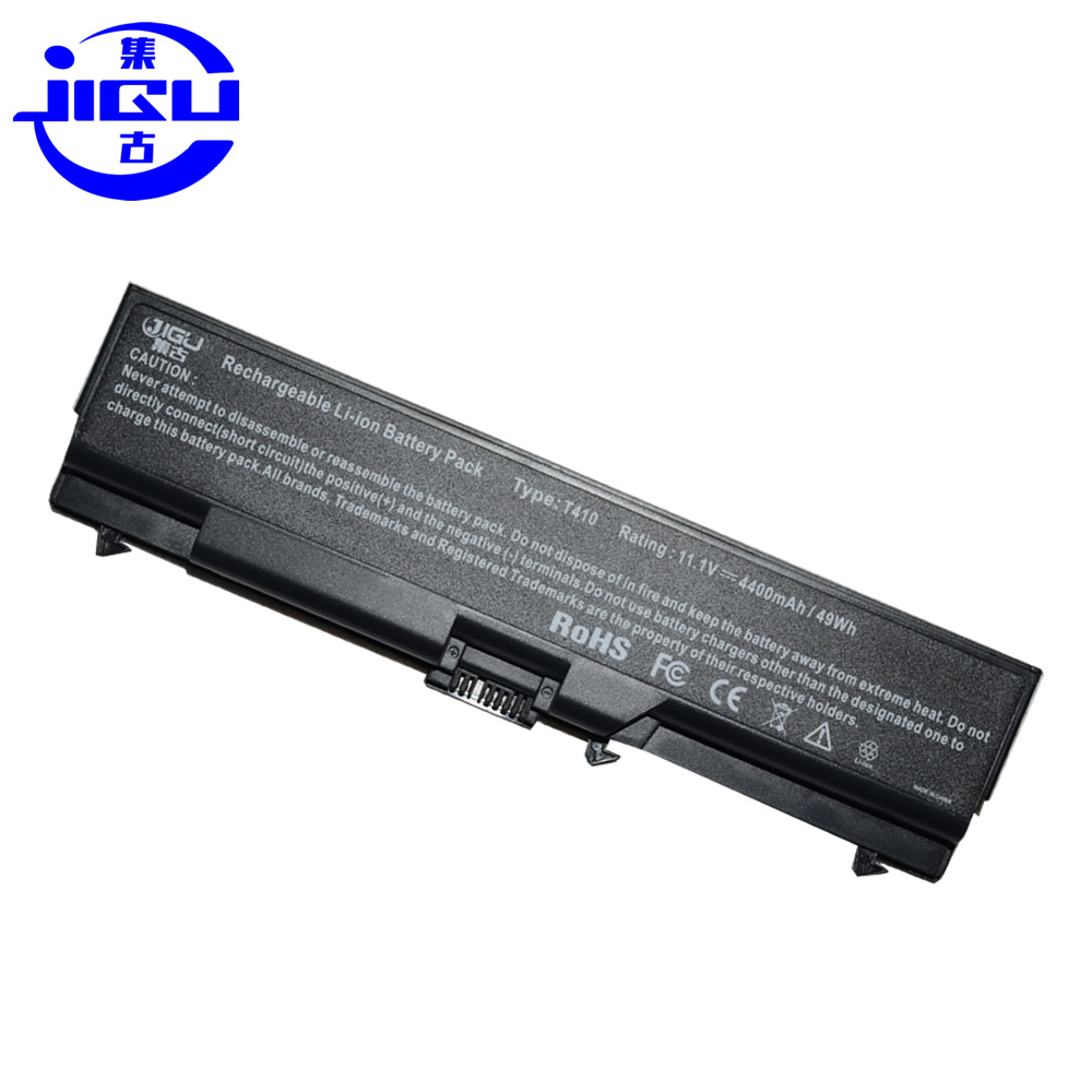 JIGU Laptop Battery For Lenovo 42T4739 FRU 42T4851 45N1007 42T4752 42T4765 42T4755 42T4851 42T4912 For THINKPAD T530 T410I L410