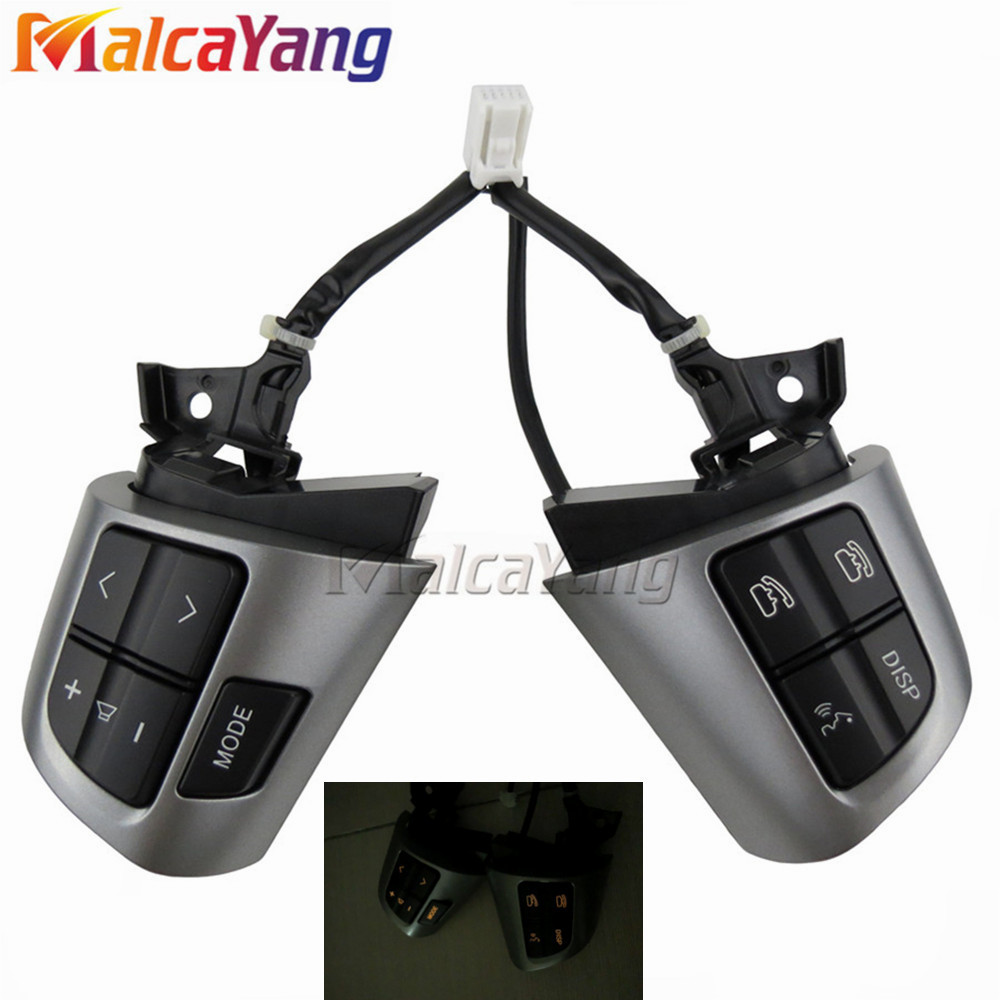 Top Quality Steering Wheel Control Button Switch For TOYOTA COROLLA ADE150 NDE150 NRE150 ZZE150 2007 2013